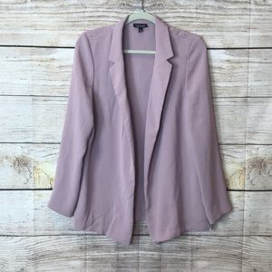 TopShop- blush open blazer in size 8